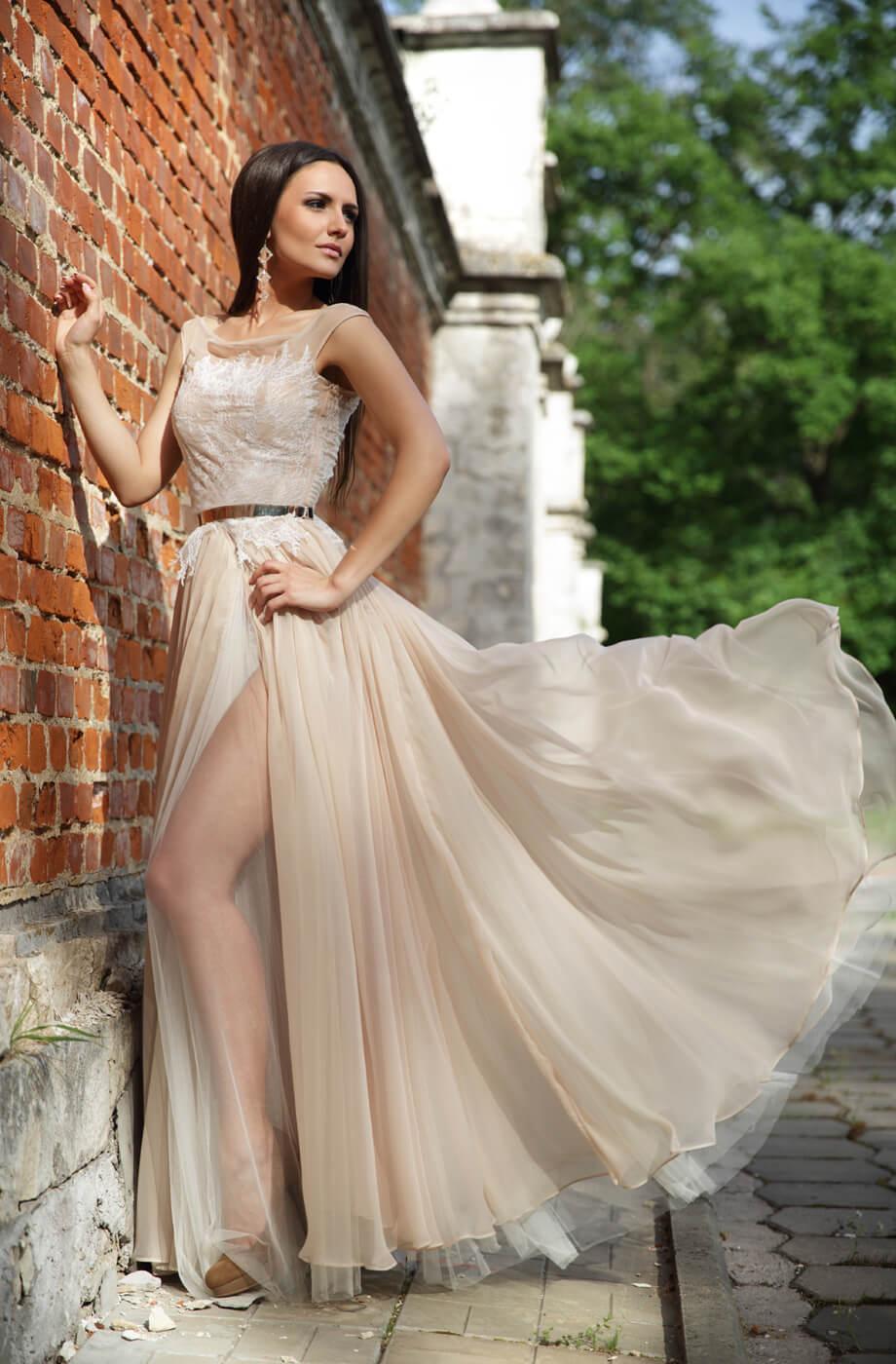 robe de mariée de couleur