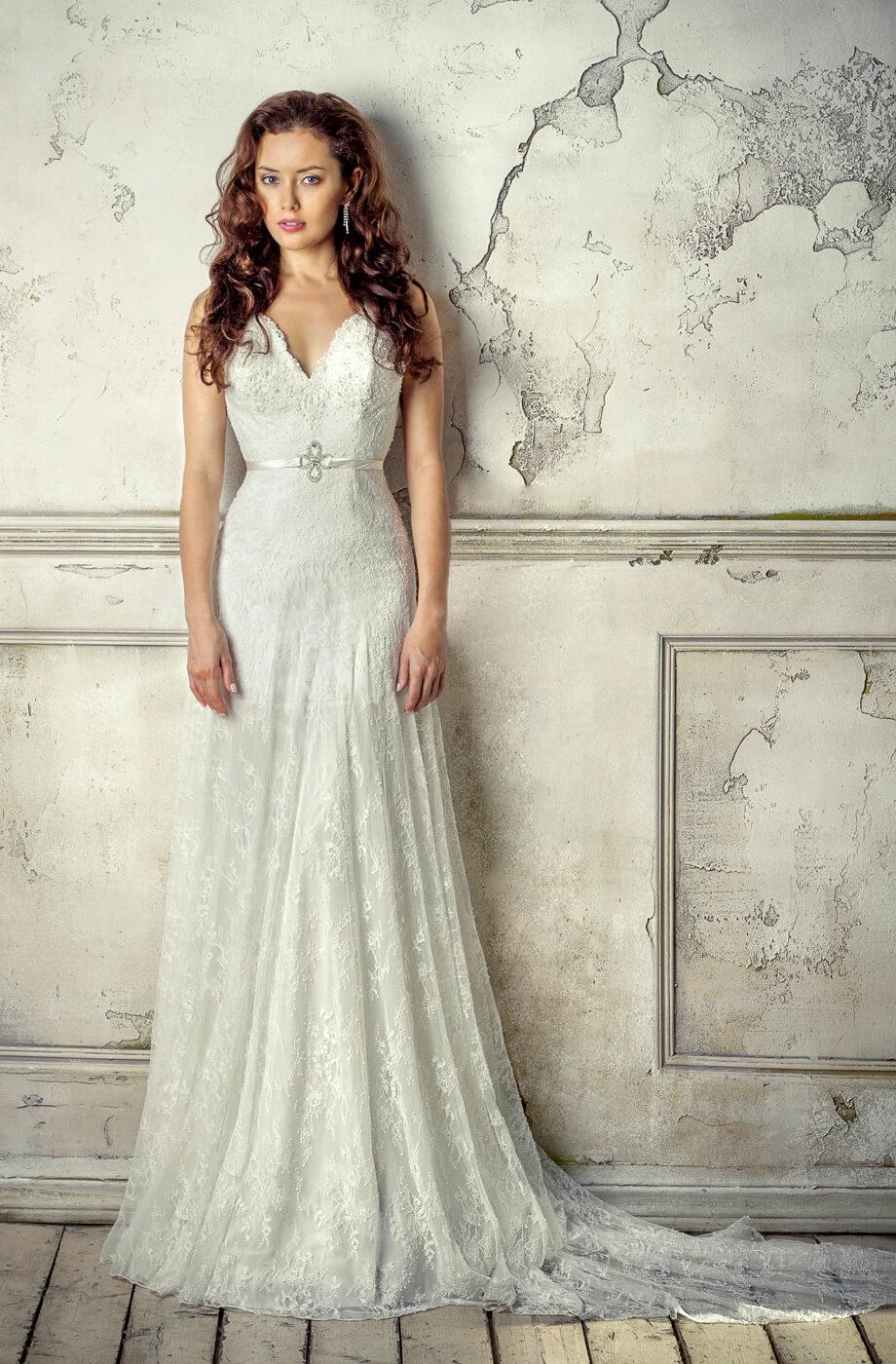 robe de mariée dentelle Lyon