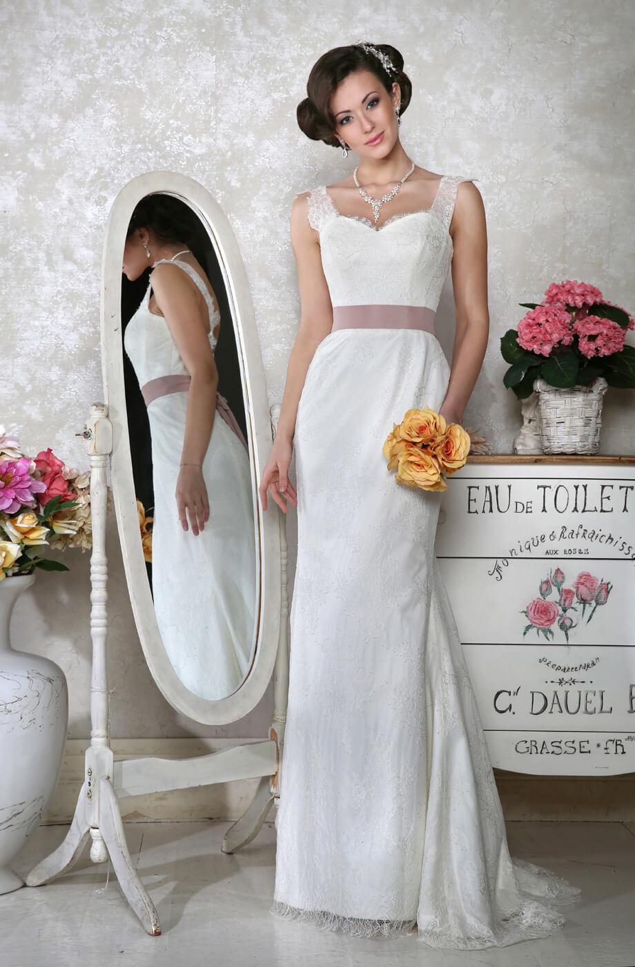 robe de mariée dentelle Paris
